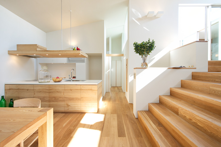 moderne par Mimasis Design/ミメイシス デザイン, Modern Wood Effet bois