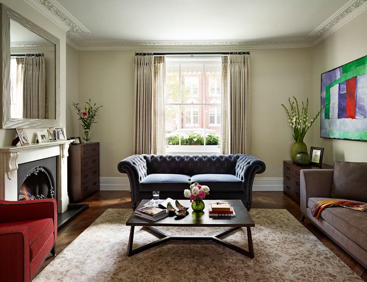 Reflected Glory - Holland Park Rénovation d'un salon de style classique par Tyler Mandic Ltd Classic