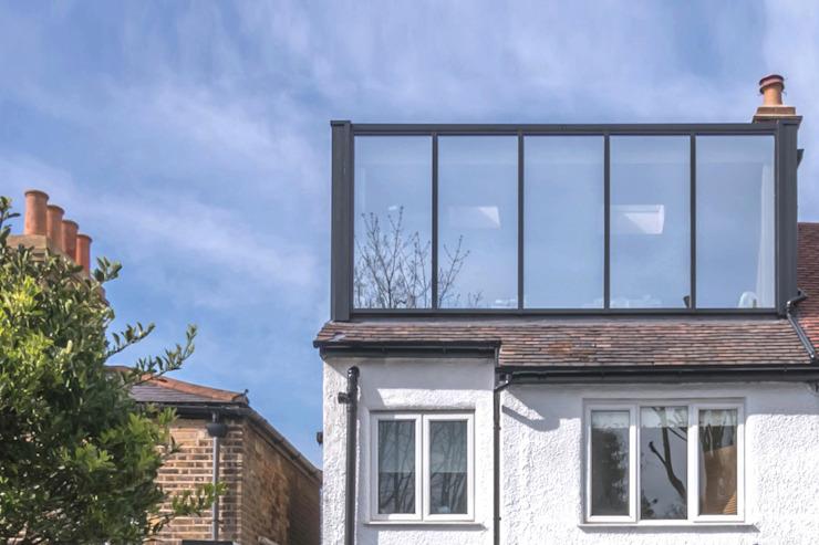 East Dulwich 1 Maisons modernes par Proctor & Co. Architecture Ltd Verre moderne