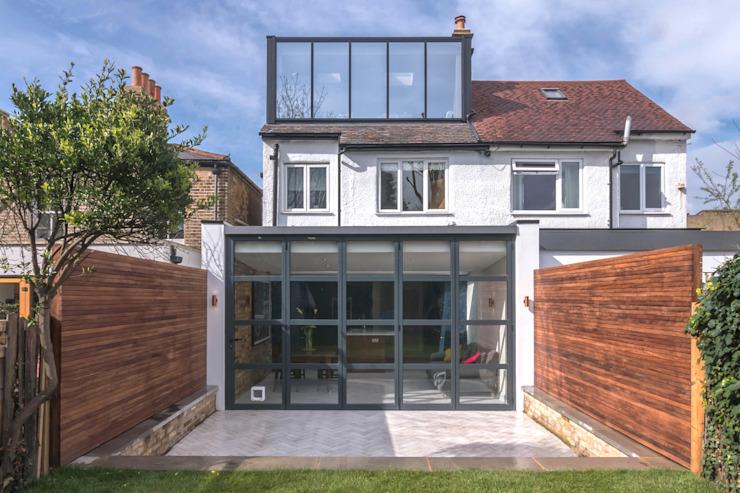 East Dulwich 1 Proctor & Co. Architecture Ltd Maisons modernes Verre Noir