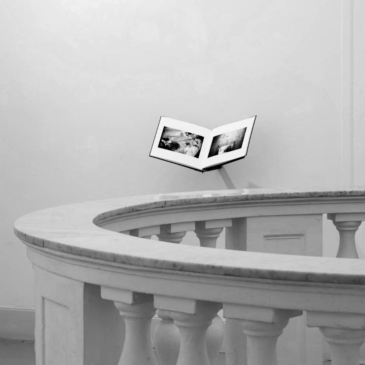 Couloir, couloir et escaliers minimalistes par giovanni francesco frascino architetto Minimalist