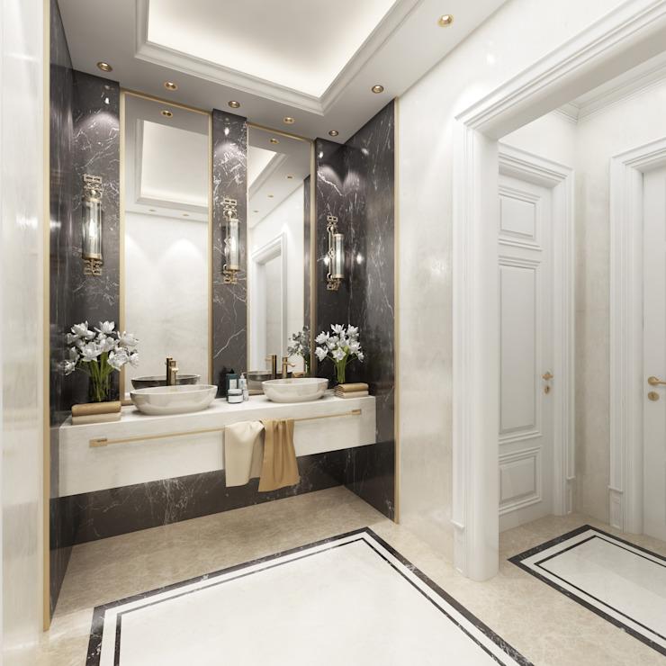 Salle de bains Salon de style classique par Sia Moore Archıtecture Interıor Desıgn Classique