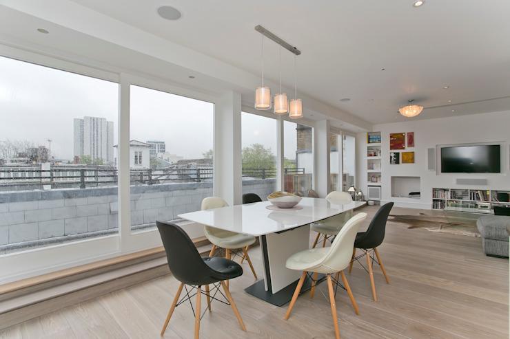 Salle à manger Salle à manger moderne par Temza conception et construction Moderne