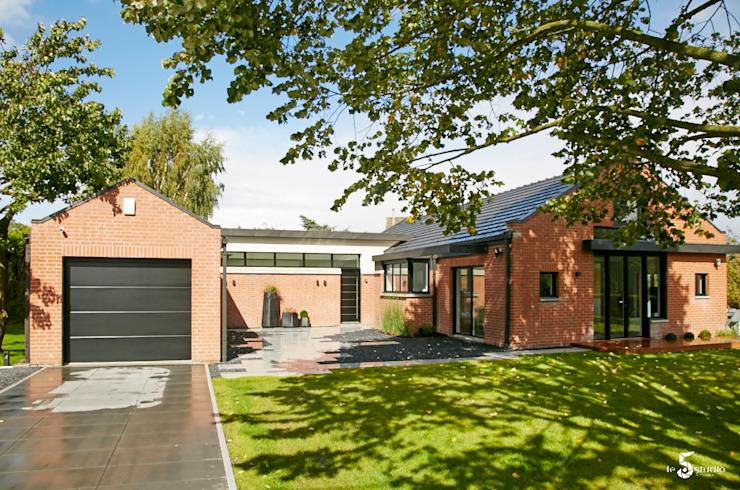 Maisons minimalistes d'Emilie Bigorne, architecte d'intérieur CFAI Minimalist Bricks