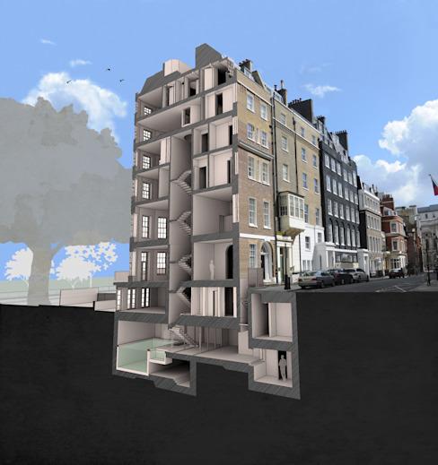 Maquette : moderne par Prestige Architects Par Marco Braghiroli, Moderne
