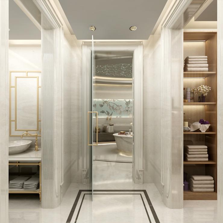 Bain turc Salon de style classique par Sia Moore Archıtecture Interıor Desıgn Classique