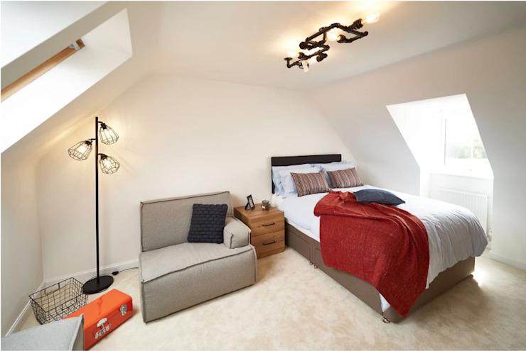 La chambre industrielle voûtée Chambre à coucher de style industriel par Aorta : le cœur de l'art industriel