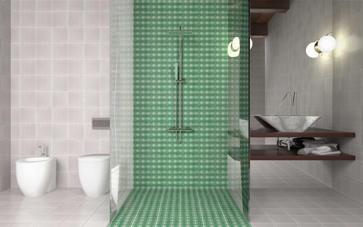 Salle de bain moderne par CERAMICHE MUSA Céramique moderne