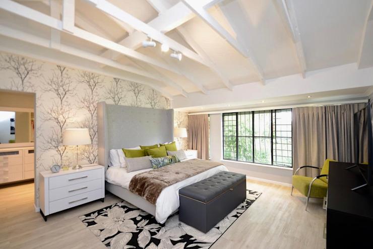 Chambre à coucher de style moderne par CS DESIGN Modern