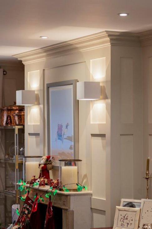 Rénovation de Knightbridge Salon de style classique par Prestige Architects Par Marco Braghiroli Classic