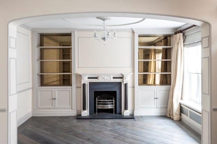 Knightsbridge Townhouse Salon de style classique par Prestige Architects Par Marco Braghiroli Classic