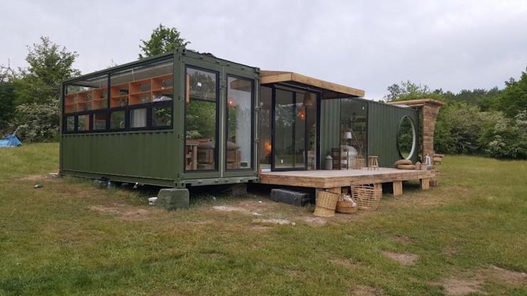 MOVI SHIPPING CONTAINER HOUSES par MOVİ evleri Minimaliste