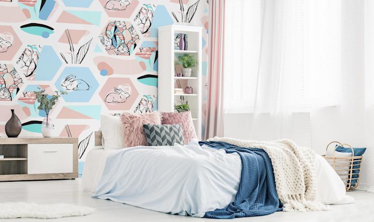 PASTEL EASTER Chambre à coucher de style scandinave par Pixers Scandinavian