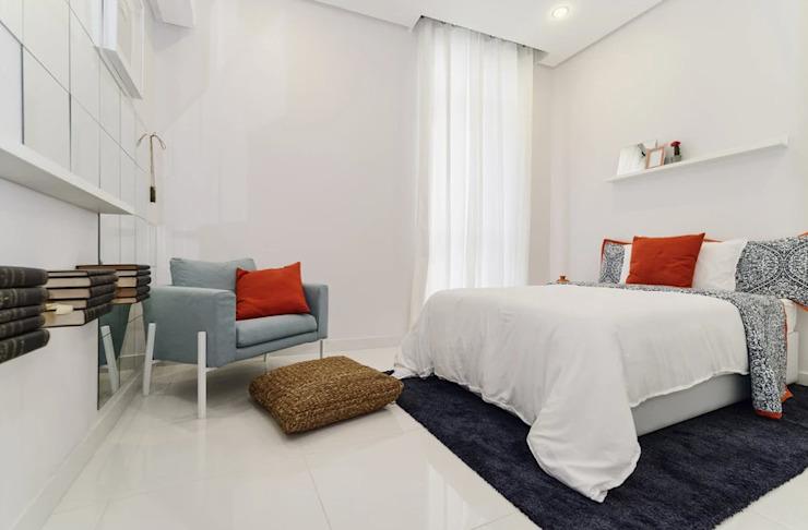 La chambre blanche La chambre de style éclectique d'Aorta : le cœur de l'art éclectique