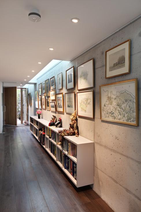 E2 PAVILION ECO HOUSE, BLACKHEATH Couloir, couloir et escaliers modernes par E2 Architecture + Interiors Modern