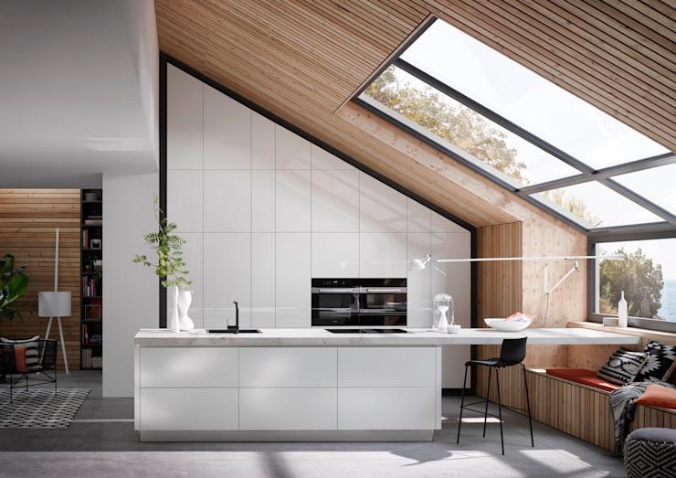 Nouvelle gamme de portes #2020 par PTC Kitchens Modern