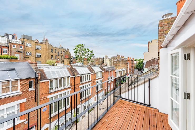 Balcon Maisons modernes par des architectes de prestige Par Marco Braghiroli Modern