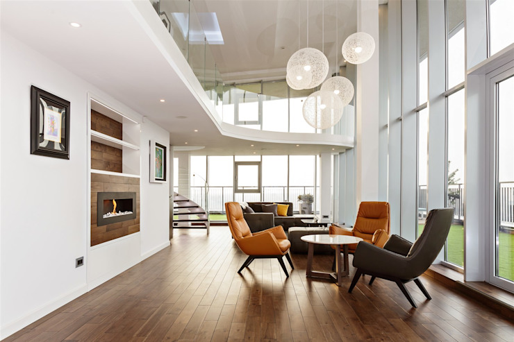salon salon minimaliste par EVdesign Minimalist