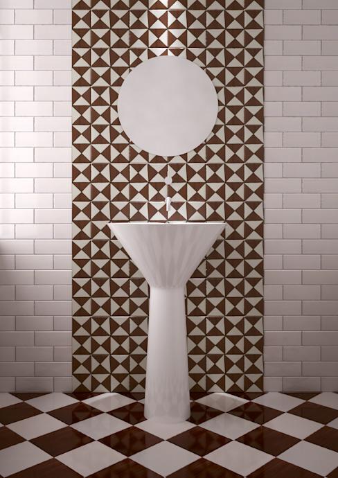 Salle de bains moderne par CERAMICHE MUSA Céramique moderne