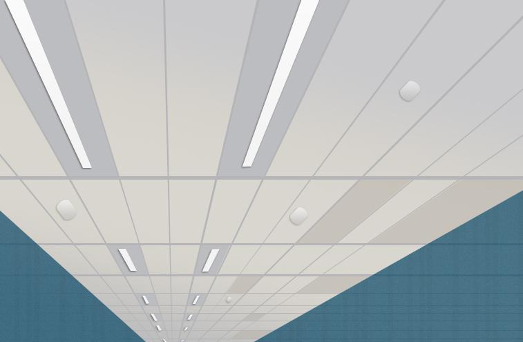 Plafond du bandraster