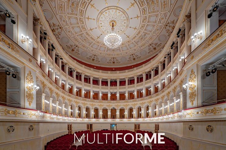 Théâtre Galli, Rimini Les lieux d'événements classiques par MULTIFORME® éclairage Verre classique