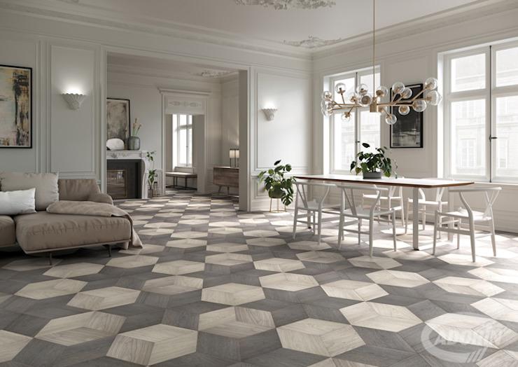 Salon moderne par Cadorin Group Srl - Parquet de qualité supérieure moderne