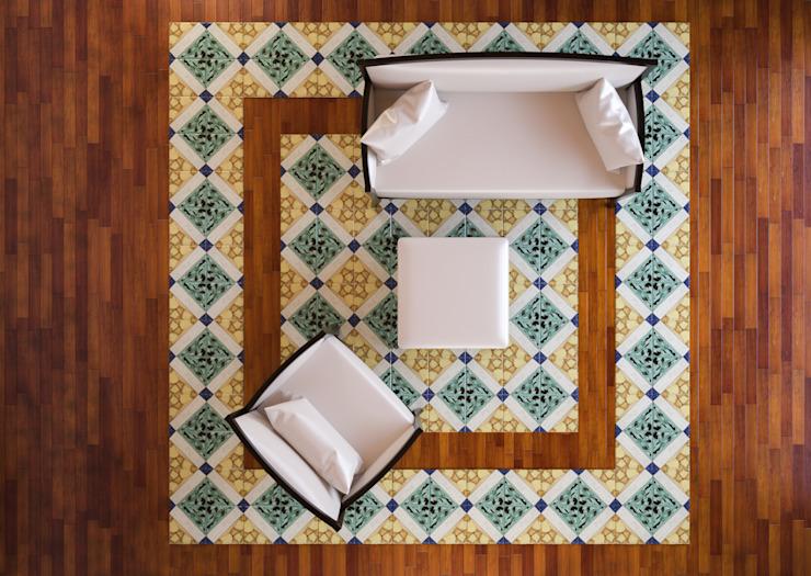 Salon moderne par CERAMICHE MUSA Céramique moderne