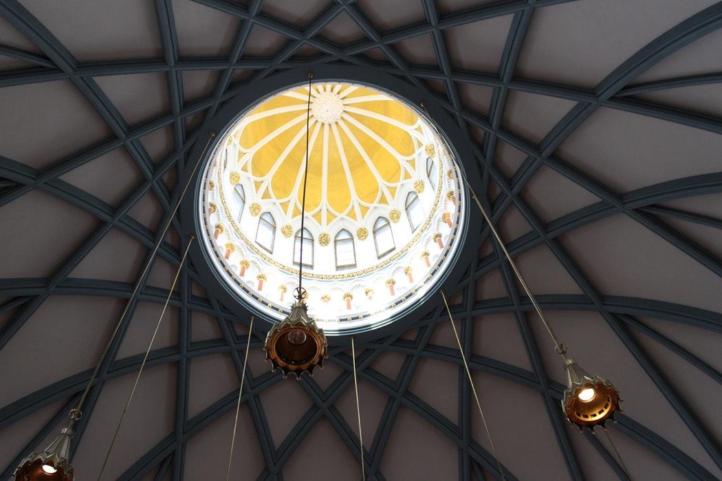 Plafond de la cathédrale
