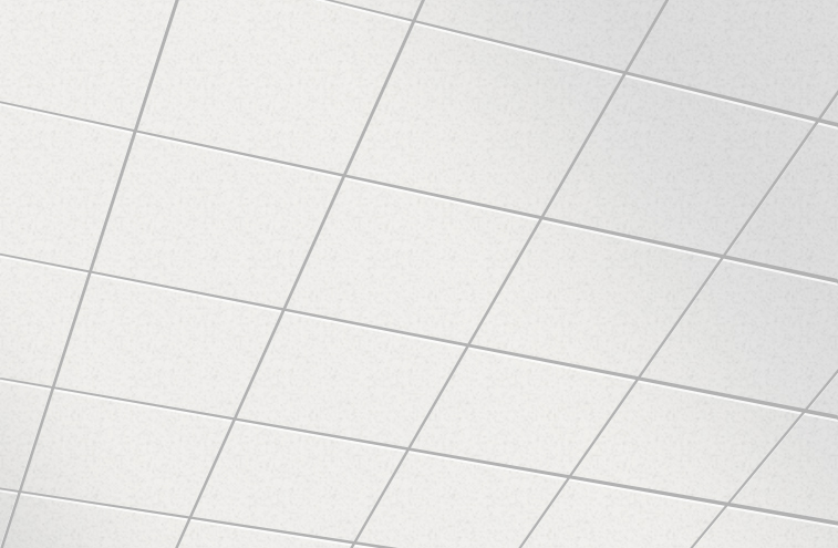 Plafonds à grille cachée