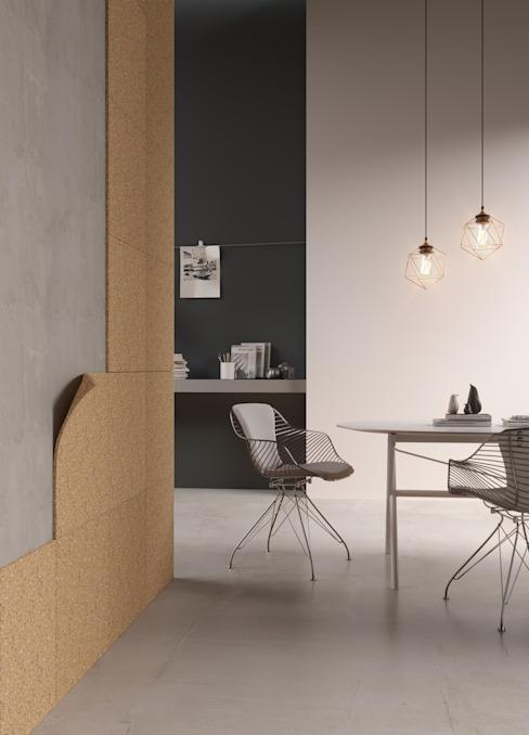 Matériaux de construction durables Murs et sols modernes par Go4cork Modern Cork