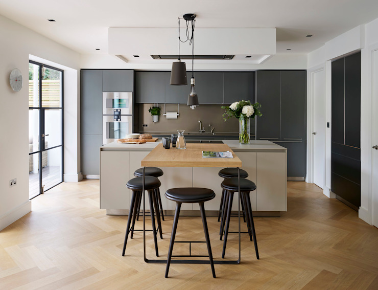Timeless Living Modern cuisine par Kitchen Architecture Modern