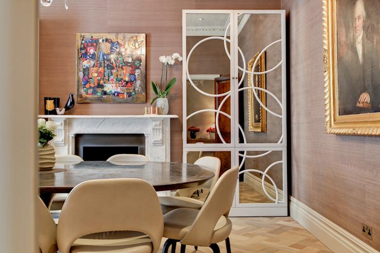 Style et substance Salle à manger moderne du Studio Hopwood Modern