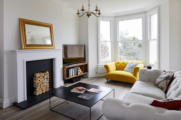 Rénovation d'une maison, salon Forest Hill Modern par Resi Architects à Londres Modern
