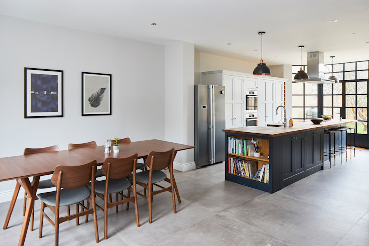 Rénovation d'une maison, cuisine moderne de Forest Hill par Resi Architects à London Modern