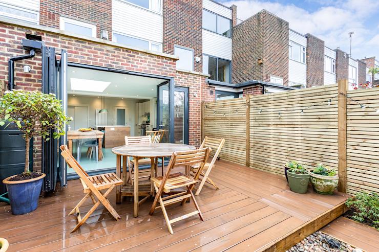 Elverson Road SE13 Lewisham L'architecte a conçu l'extension de la maison par GOAStudio | Londres architecture résidentielle Modern Bricks