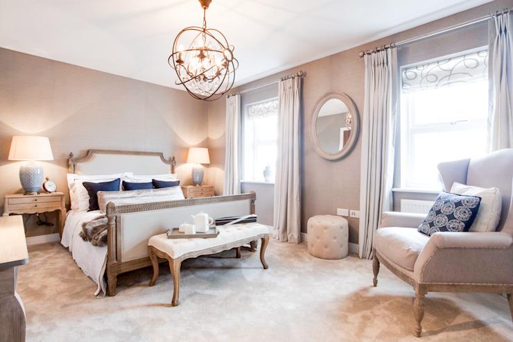 Chambre à coucher de style Montford Place Classic par Etre Classic