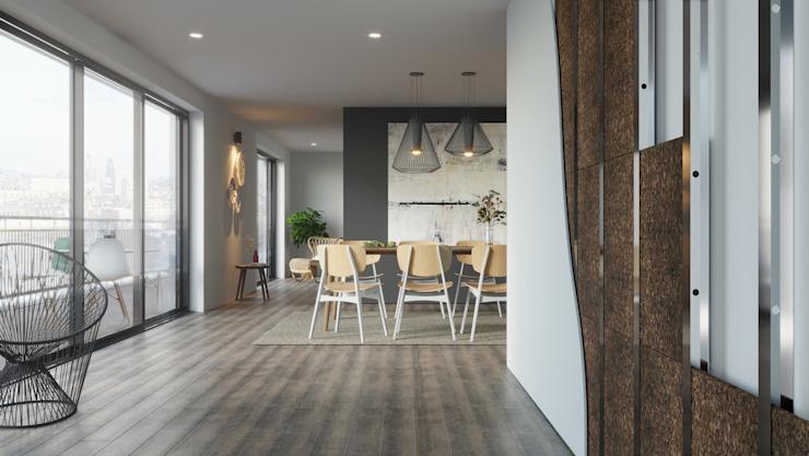 Matériaux de construction pour la salle à manger Salle à manger moderne par Go4cork Modern Cork
