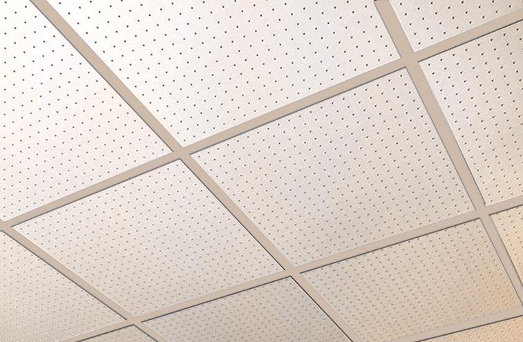 Plafonds de grille exposés
