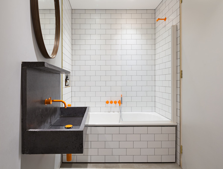 La salle de bain de style scandinave Etch House de Fraher et Findlay Scandinavian