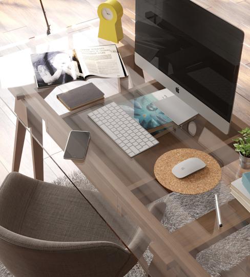 Tapis de souris Etude/bureau moderne par Go4cork Modern Cork