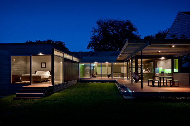 Maisons modernes par KUBE Architecture Modern