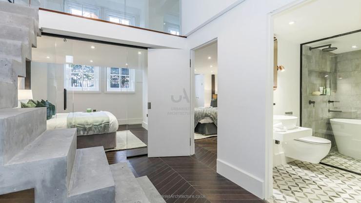 Chambres à coucher Chambre minimaliste par Urbaniste Architecture Minimaliste Effet bois