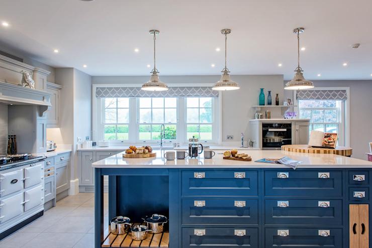 M. et Mme G, Cuisines - Maidenhead de Raycross Interiors Classic