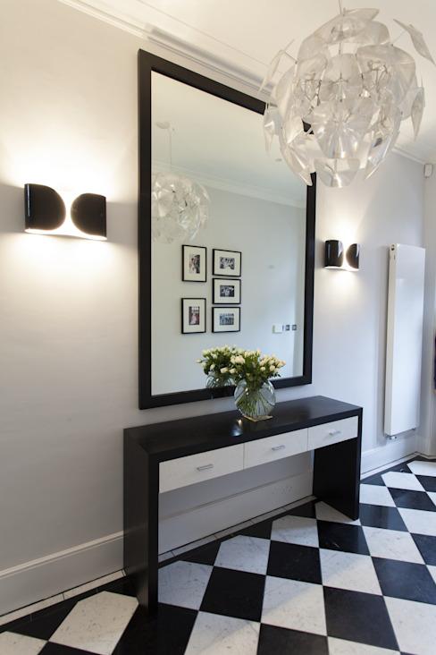 Couloir Couloir, couloir et escaliers modernes par Roselind Wilson Design Modern