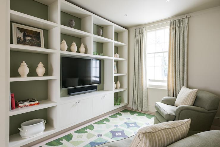 Hillgate Place, Notting Hill Salon moderne par Grand Design London Ltd Modern