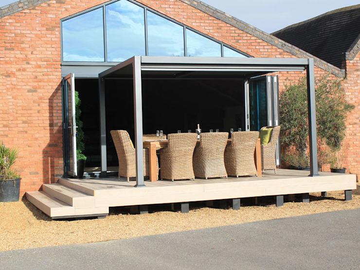 Galaxy Gazebo Jardin moderne par le Centre du mobilier de jardin Aluminium/Zinc moderne
