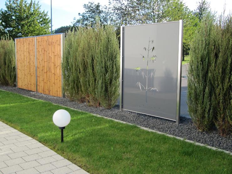 Jardin moderne de l'Atelier Crouse d'Edelstahl : Moderne