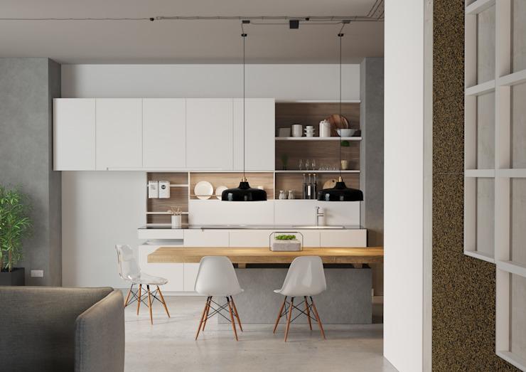 Matériaux de construction de cuisine par Go4cork Modern Cork