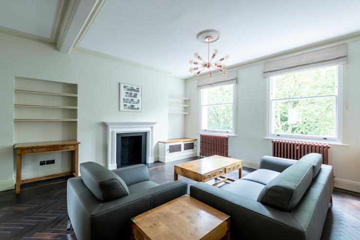 Le salon Le salon moderne par Prestige Architects Par Marco Braghiroli Modern