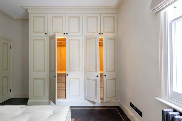 Un éclairage impeccable Une chambre à coucher de style moderne par Prestige Architects Par Marco Braghiroli Modern